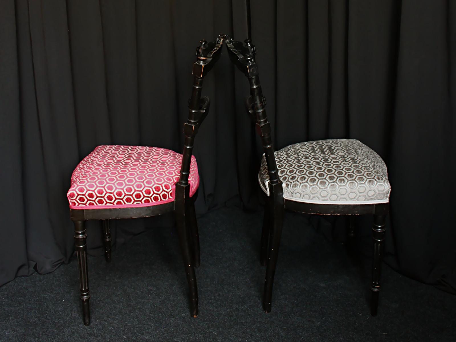 Quel Tissu Pour Chaise restauration chaises napoléon iii - métissage & matières