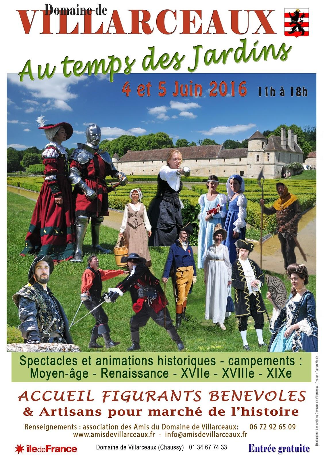 Exposition m tiers d 39 art villarceaux au temps des for Jardin d aywiers 2016