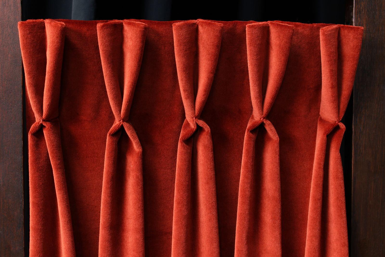 T te de rideaux tapissi re d couvrir m tissage mati res - Tissus pour double rideaux ...