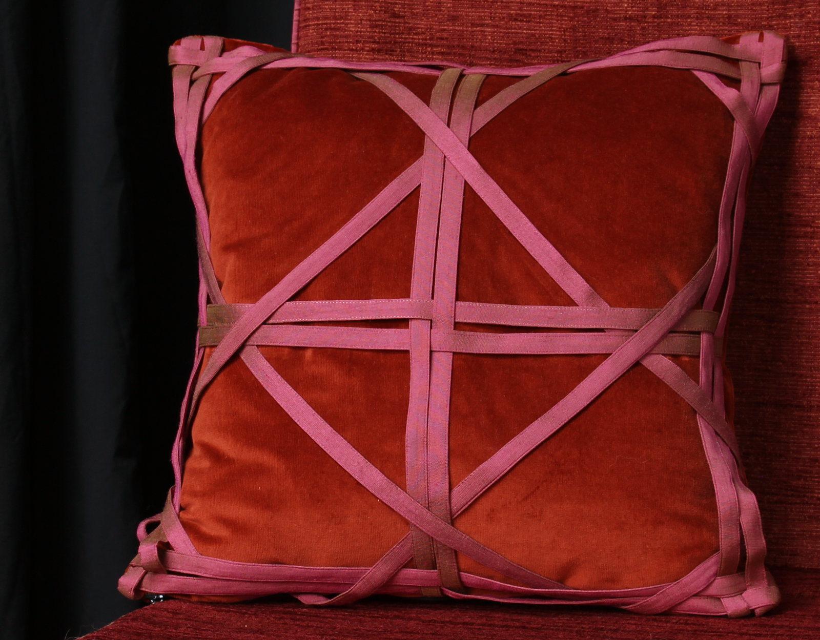 coussins de décoration - métissage & matières