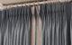 Double rideaux tête plis pincés double flamands galon Houlès tissu Casal Versailles Yvelines 78000 Métissage et Matières
