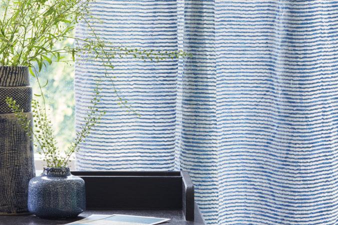 Villa Nova collection HANA éditeur de tissus d'ameublement partenaires Métissage et Matières