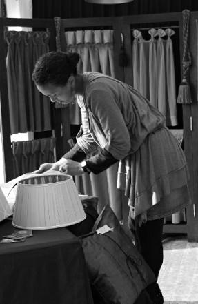 Histoire atelier tapisserie d'ameublement et fabrication de luminaires Métissage et Matières Blaru Eure 27 Yvelines 78 Paris 75