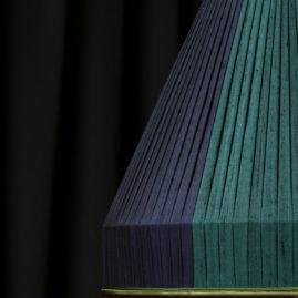 cousue main bandes verticales tissu soie doupion doublure intérieure taffetas Métissage et Matières