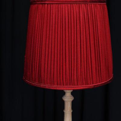 Abat-jours forme américaine en soie doupion finition couture froncée Tapissier tapissière Fabricant de luminaires abat-jour Métissage et Matières Yvelines 78 Eure 27 Hauts-de-Seine 92 Paris 75