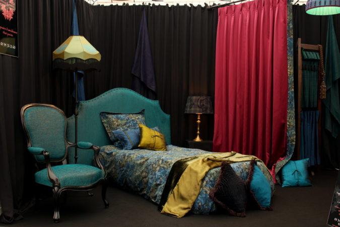 Rétrospective salon habitat et décoration Mantes-la-jolie les 10, 11 et 12 mars 2017 - Tapissier décorateur tapissière décoratrice et fabricant d'abat-jour Métissage et Matières