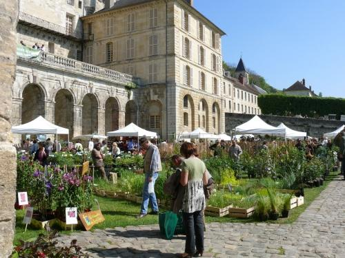 Plantes, plaisirs, passions La Roche-Guyon 2017 au Château de La Roche-Guyon (Val d'Oise -95 ) les 6 et 7 mai 2017