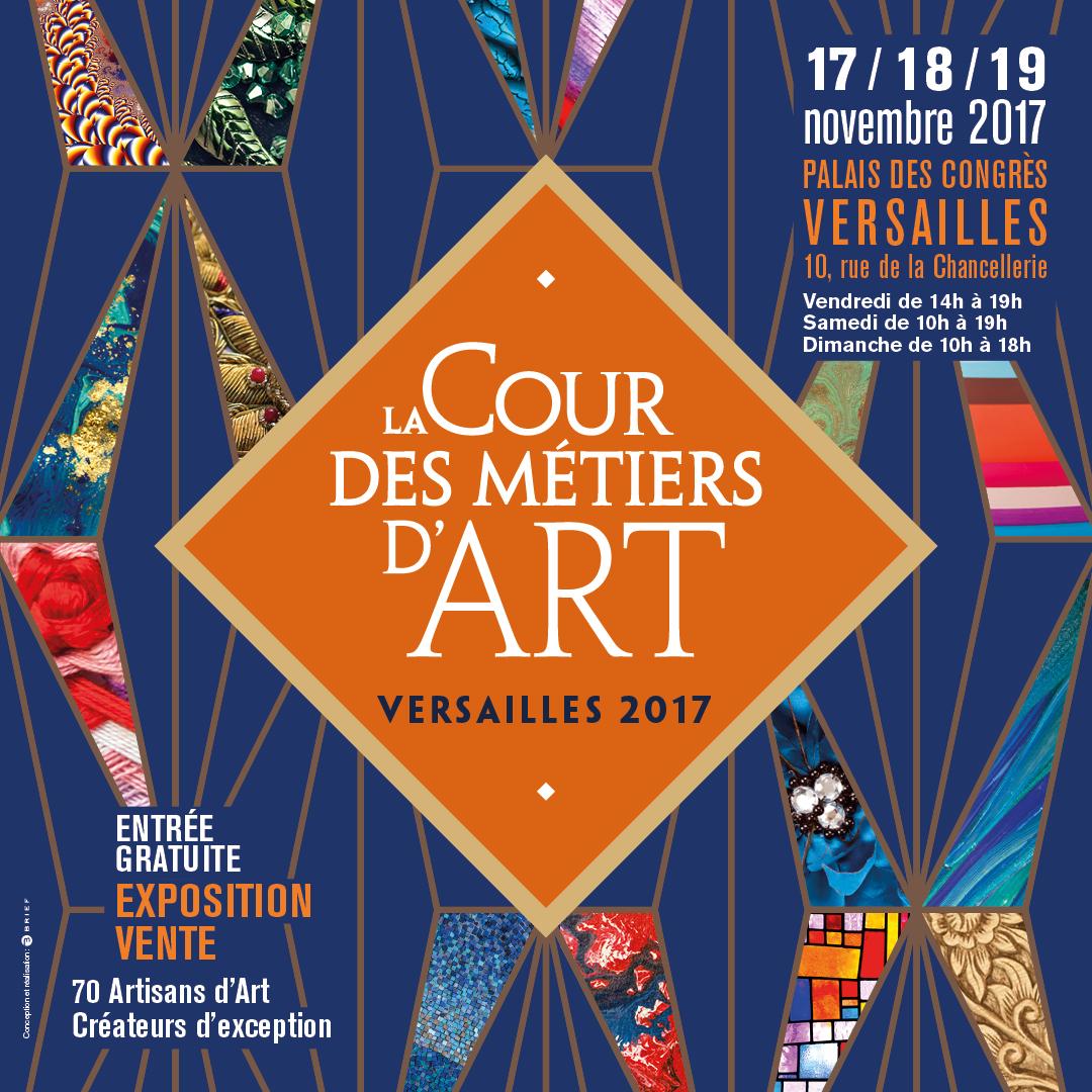 Salon la cour des m tiers d 39 art versailles m tissage for Salon art de la table 2017