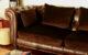 Housses coussins de canapé sur-mesure tissu velours marron chocolat Luciano Marcato Tapissier tapissière Abat-jouriste Métissage et Matières Yvelines 78 Eure 27 Hauts-de-Seine 92 Paris 75