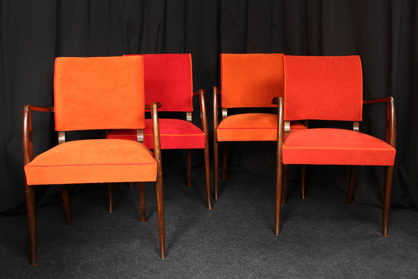 Restauration fauteuils Bridge années 50 - Métissage & Matières