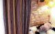 Rideaux sur-mesure tête tapissière plis tube tissu à rayures multicolores Wind Tapissier tapissière Abat-jouriste Métissage et Matières Yvelines 78 Eure 27 Hauts-de-Seine 92 Paris 75