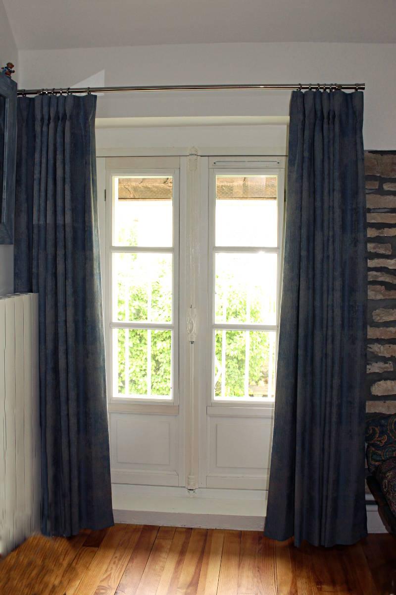 rideaux sur mesure pour chambres d 39 amis m tissage mati res. Black Bedroom Furniture Sets. Home Design Ideas