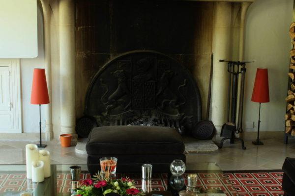 Abat-jours forme cheminée en soie doupion changeante - Tapissier tapissière Fabricant de luminaires abat-jour Métissage et Matières Yvelines 78 Eure 27 Hauts-de-Seine 92 Paris 75