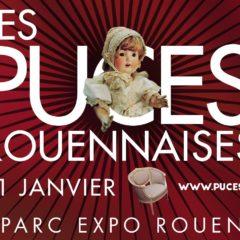 Les Puces Rouennaises au Parc des Expos de Rouen du 19 au 21 janvier 2018 - Tapissier décorateur tapissière décoratrice et Abat-jouriste Métissage et Matières