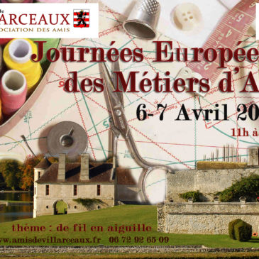 Journées européennes des Métiers d'Art au Domaine de Villarceaux (Val d'Oise -95 ) JEMA Villarceaux 2019 les 6 et 7 avril