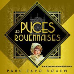 Les Puces Rouennaises au Parc des Expos de Rouen du 17 au 19 janvier 2020 - Tapissier décorateur tapissière décoratrice et Abat-jouriste Métissage et Matières
