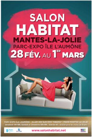 Salon de l'habitat et de la décoration à Mantes-la-jolie, du 28 février au 1er mars 2020 au Parc des expositions de l'Île L'Aumône - Tapissier décorateur tapissière décoratrice et Abat-jouriste Métissage et Matières