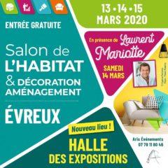 Salon de l'habitat et de la décoration à Évreux, du 13 au 15 mars 2020 à la Halle des Expositions d'Évreux - Tapissier décorateur tapissière décoratrice et Abat-jouriste Métissage et Matières